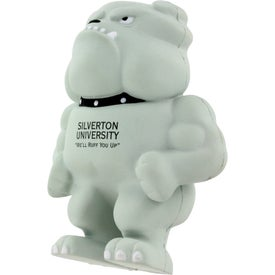 Bulldog Mascot Stress Ball for your School