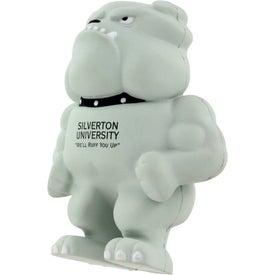 Bulldog Mascot Stress Ball for your School