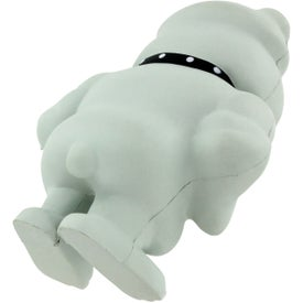 Logo Bulldog Mascot Stress Ball