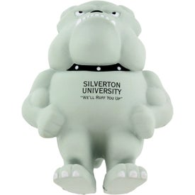 Bulldog Mascot Stress Ball