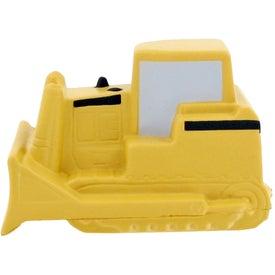 Printed Bulldozer Stress Toy