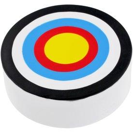 Branded Bullseye Stress Ball