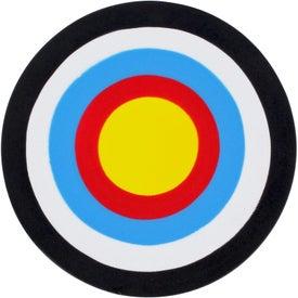 Monogrammed Bullseye Stress Ball