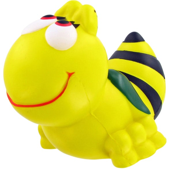 Yellow / Black Bumble Bee Stress Toy