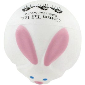 Bunny Rabbit Ball Stress Ball for Your Church