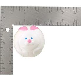 Customized Bunny Rabbit Ball Stress Ball