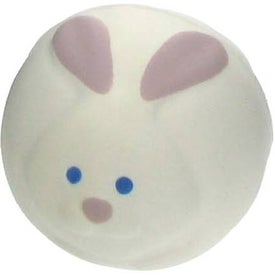 Branded Bunny Rabbit Ball Stress Ball