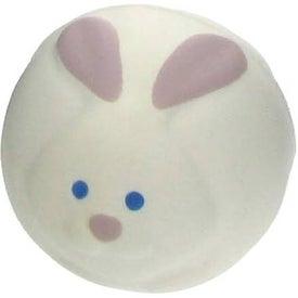 Branded Bunny Rabbit Ball Stress Ball