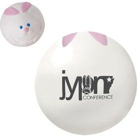 Bunny Rabbit Ball Stress Ball