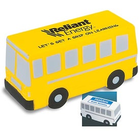 Bus Stress Squeeze Printed with Your Logo