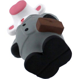 Business Cow Stress Reliever for Advertising