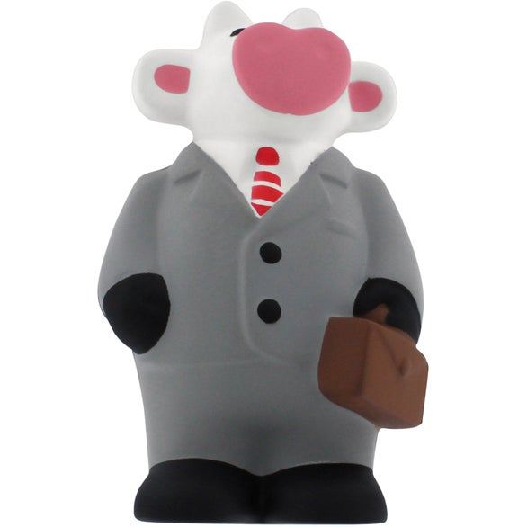Gray Business Cow Stress Reliever
