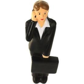 Advertising Business Woman Stress Ball