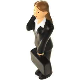 Business Woman Stress Ball Imprinted with Your Logo