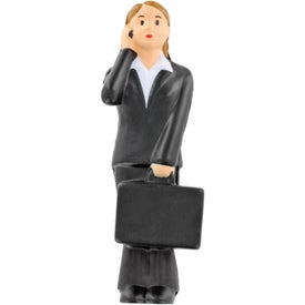Custom Business Woman Stress Ball