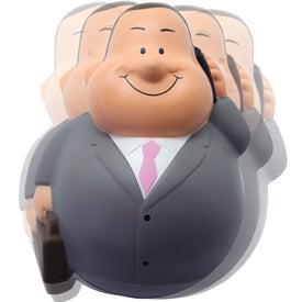 Businessman Bert Wobbler Stress Reliever