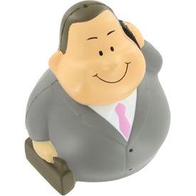 Businessman Bert Wobbler Stress Reliever for your School