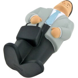 Personalized Businessman Stress Ball