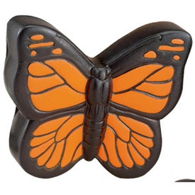 Imprinted Butterfly Stress Ball