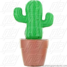 Promotional Cactus in Pot Stress Ball