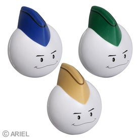 Cadet Mad Cap Stress Ball Imprinted with Your Logo