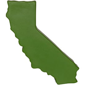 California Shaped Stress Reliever