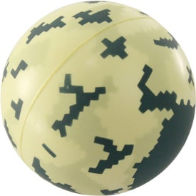 Digital Camo Ball Stress Reliever for Your Church