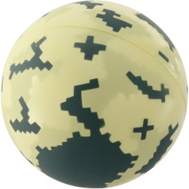 Digital Camo Ball Stress Reliever for Promotion