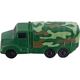 Camouflage Military Truck Stress Toy