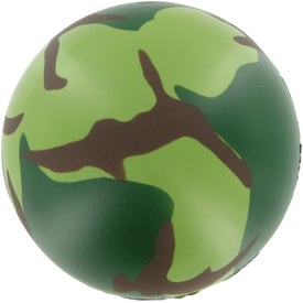 Camouflage Stress Ball for Your Church
