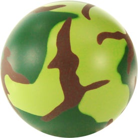 Advertising Camouflage Stress Ball