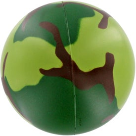Printed Camouflage Stress Ball