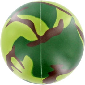 Camouflage Stress Ball Giveaways