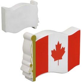 Advertising Canadian Flag Stress Ball