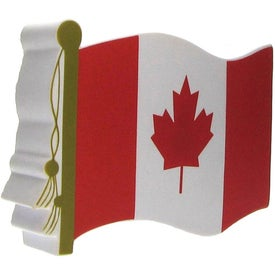 Printed Canadian Flag Stress Ball