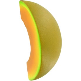 Cantaloupe Stress Ball Branded with Your Logo