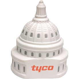 "US Capitol Stress Ball (2.25"" x 2.75"" Dia.)"