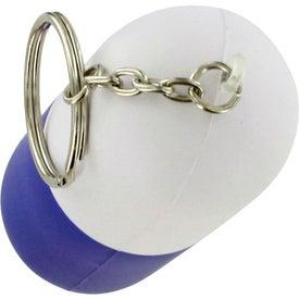 Capsule Key Chain Stress Ball