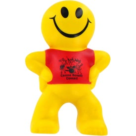 Captain Smiley Stress Ball Branded with Your Logo