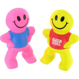Captain Smiley Stress Ball Giveaways