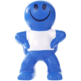 Advertising Captain Smiley Stress Ball