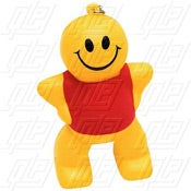 Captain Smiley Key Chain Stress Ball