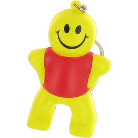 Captain Smiley Key Chain Stress Ball for Your Church