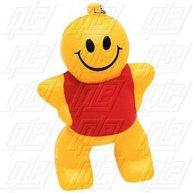 Captain Smiley Key Chain Stress Ball