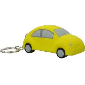 Car Key Chain Stress Ball