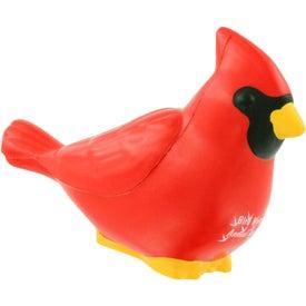 Printed Cardinal Stress Ball