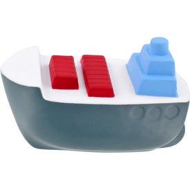 Logo Cargo Boat Stress Ball