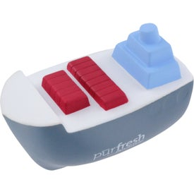 Cargo Boat Stress Ball for Promotion