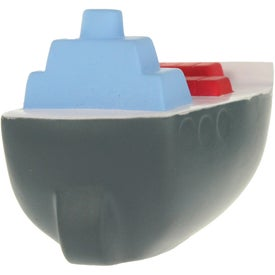 Cargo Boat Stress Ball Printed with Your Logo