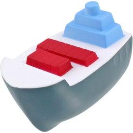 Cargo Boat Stress Ball